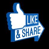 facebook-logo-like-share-png-transparent-background-107527